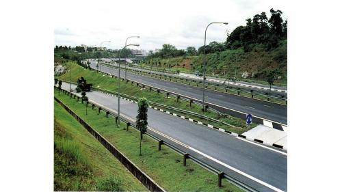 榮工處承接的新加坡快速道路工程
