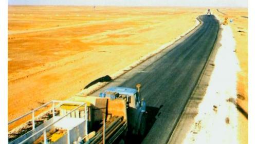 榮工處承接的海外公路工程-約旦雅宜公路工程