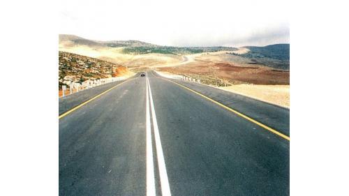 榮工處承接的約旦佳來喜公路工程