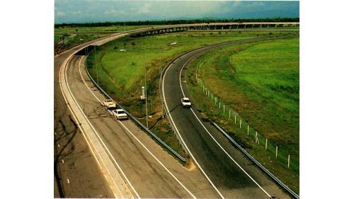榮工處承接的馬來西亞古隆高速公路工程