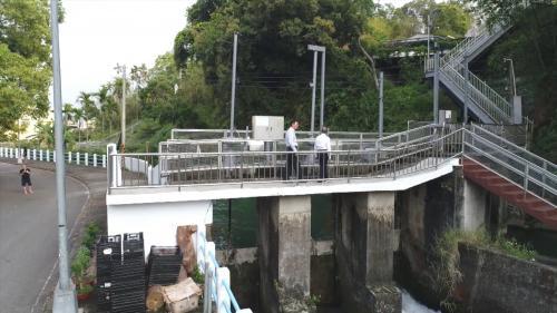 社寮電廠發電完的尾水流至八寶圳灌溉下游的農田,面積約為2200公頃。