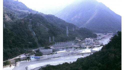 大甲溪發電廠位於天輪電廠