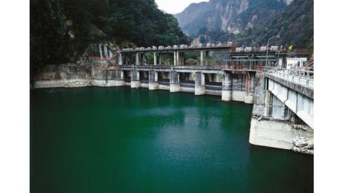 大甲溪天輪壩1956年啟用