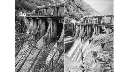 大甲溪天輪壩下游  1956年啟用