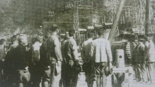 政府於1946年完成接收「台灣電力株式會社」成立台電