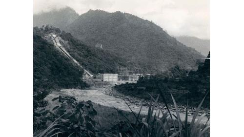 1957年的天輪發電廠