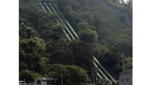 天輪#1-4號機組壓力鋼管