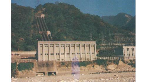 天輪壓力鋼管及廠房