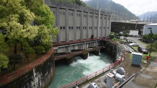 一號至四號發電機機尾水排放閘門