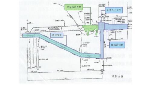 天輪東卯溪渡槽損害後修復設計圖