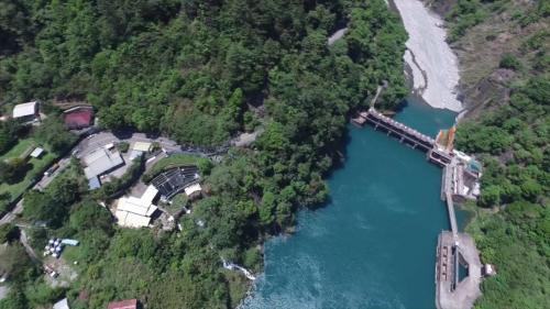 天輪電廠及新天輪電廠進水口