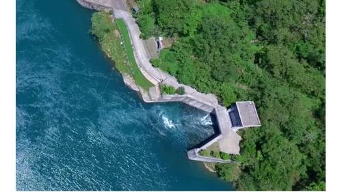 谷關新尾水隧道引水往天輪調整池