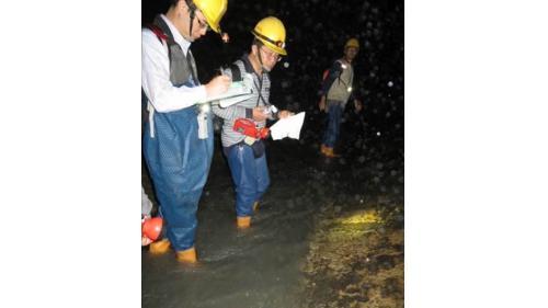大甲溪流域天輪及新天輪引水隧道定期檢查