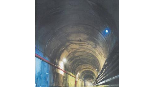 新天輪地下廠房通道
