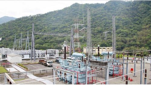 2007年4月起345KVA超高壓開關場改以氣体絕緣斷路器GCB復建