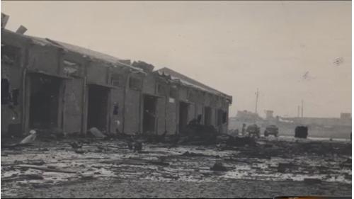 二戰浩劫後的高雄港滿目瘡痍,沉船處處,設施破壞無遺,港埠功能盡失,遂成死港
