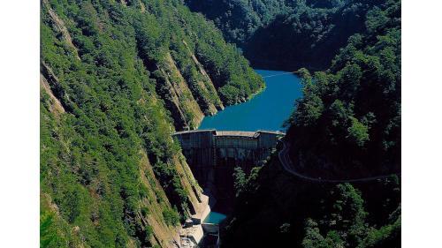 大甲溪流域谷關壩