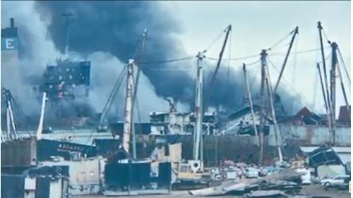 高雄港打撈沉船1945年至1955年期間,高雄港務局不斷打撈港內沉船,國外業者主動要求來這裡拆船,台灣發展成為拆船王國