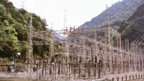 原谷關電廠開關場(大甲溪右岸)