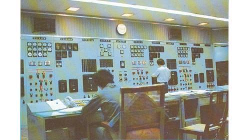 原谷關電廠控制室