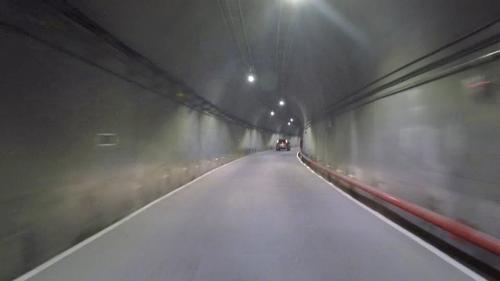 谷關電廠新廠房通道