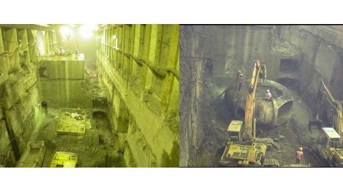 谷關電廠舊有機組全部拆除