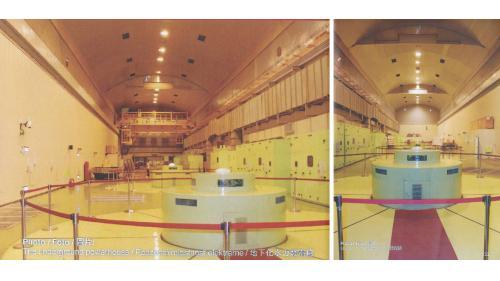 復建後谷關電廠廠區內部