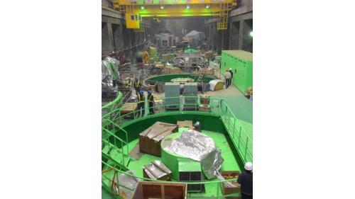 行政院在2008年正式核定青山復建計畫後,台電立即動手修復。
