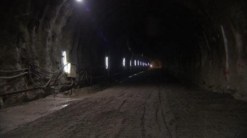 大甲溪流域青山電廠新建尾水隧道情形
