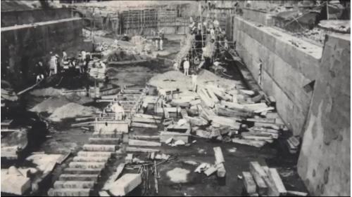 1945年後高雄港之復建工作開始