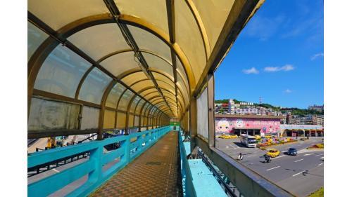 基隆港一景基隆火車站