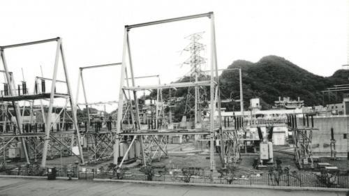 深澳電廠開關場舊照