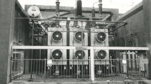 深澳電廠變壓器舊照