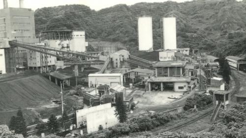 深澳電廠輸煤廊道舊照