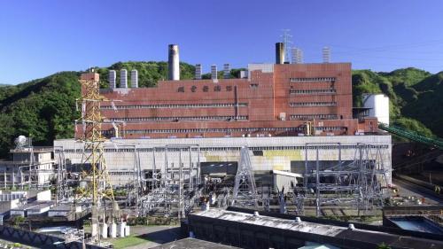 深澳電廠機組廠房