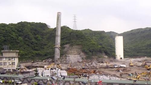 2007年9月30日機組除役,本預計於原地新建兩部八十萬瓩的超超臨界燃煤機組。於2010年6月拆除工程開始動工,於2011年廠區拆除與整地完成。