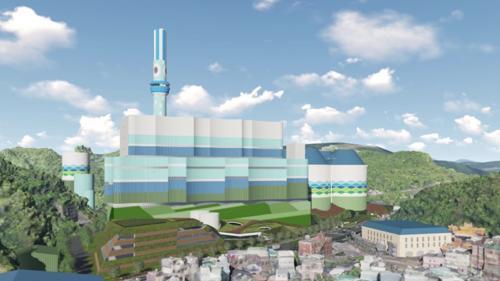 深澳電廠更新企劃模擬圖
