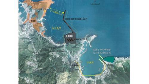 深澳港擴建卸煤碼頭規劃