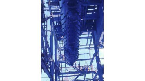 協和電廠三號機於1978年10月鍋爐汽鼓吊裝完成。