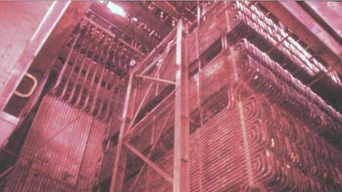 三號機鍋爐於1979年11月,進行點火煮爐測試。