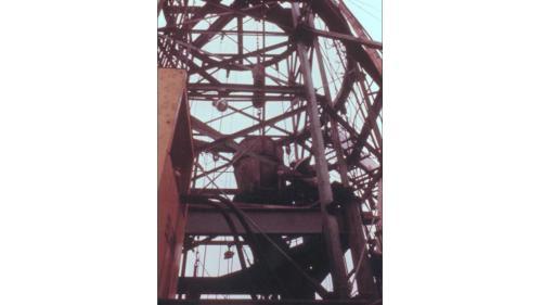 協四機於1982年4月鍋爐汽鼓吊裝完成。