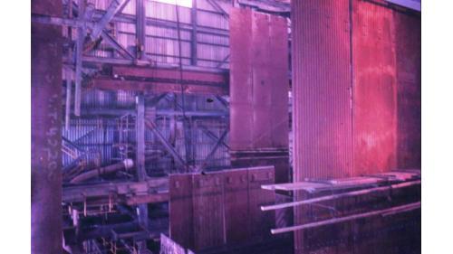 協四機於1984年11月鍋爐進行點火煮爐測試。