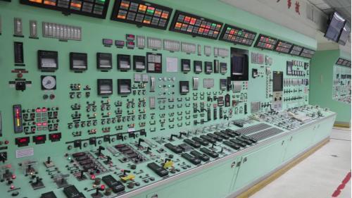 協和電廠機組控制室