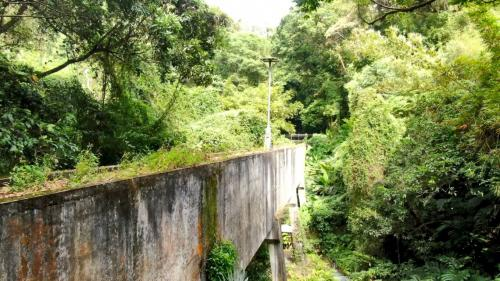 官設埤圳工程中的水橋有5段共長200公尺。