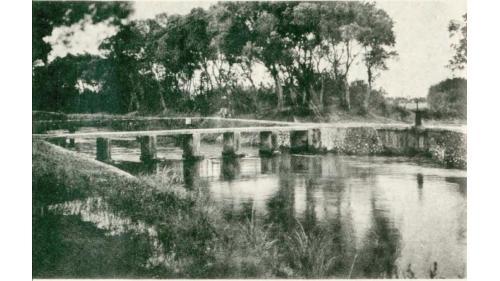 官設埤圳部分,1924年支分線部分完工,同年5月26日通水開始灌溉台上之耕地。