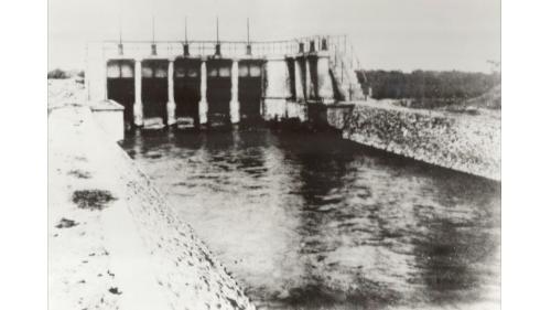 1937年桃園大圳第1號虹吸工