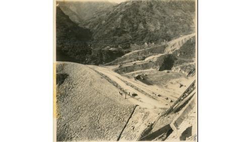1955年石門水庫興建舊照