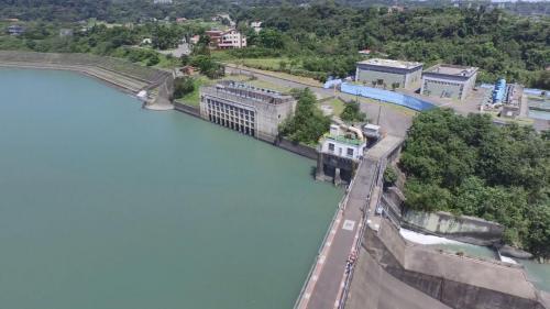 1964年6月,石門水庫興建完成後,桃園大圳新進水口遷建於後池堰左岸,自後池引取發電後之尾水。