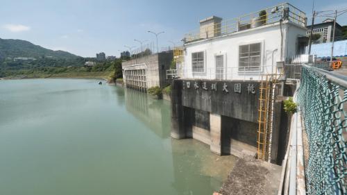 桃園大圳在石門水庫的取水口