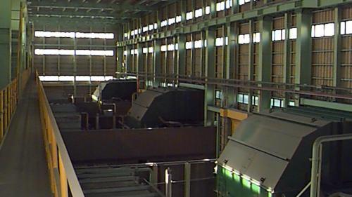 1990年7月,第一期工程的四部氣渦輪機組順利完工、併聯發電,每部機7萬瓩,燃料為輕柴油,在2015年5月起轉為緊急備用電力設施。